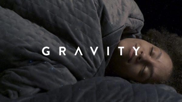 Gravity Blanket Commercial Still